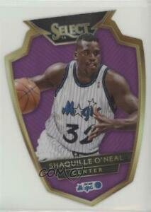 2014 Panini Select Premier Level Purple Die-Cut Prizm /99 Shaquille O'Neal HOF