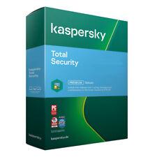Kaspersky Total Security 2021 5 PC 2 Jahre VOLLVERSION / Upgrade 2022 DE-Lizenz