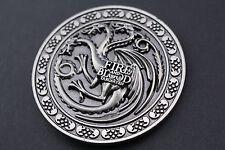 GAME OF THRONES DRAGON TARGARYEN METAL BELT BUCKLE FIRE AND BLOOD