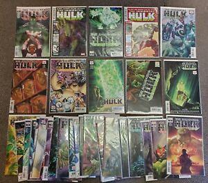 36 comic book lot IMMORTAL HULK (Marvel Comics) #0 1 2 3 7-11 13-39 NM RUN SET