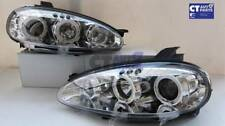 Clear LED Angel Eyes Projector Head Lights for 01-05 MAZDA MX5 NB MX 5