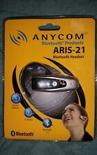 ANYCOM ARIS-21 Hands-Free Bluetooth Headset NEW IN PACKAGE