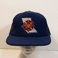 British Columbia Fire Commissioner Office Baseball Dad Hat Mesh Cap