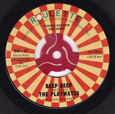 THE PLAYMATES Beep Beep / What Is Love? - 45