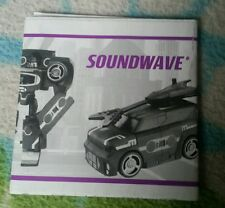 TRANSFORMERS ANIMATED SOUNDWAVE INSTRUCTION BOOKLET ONLY