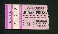 1984 Judas Priest Great White concert ticket San Diego Defenders of the Faith
