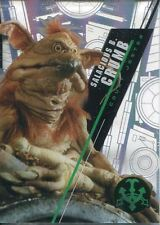 Star Wars 2016 High Tek Pattern 2 Form 1 Base Card SW-8 Salacious B. Crumb