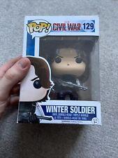 FUNKO POP! MARVEL CAPTAIN AMERICA CIVIL WAR - WINTER SOLDIER #129
