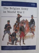 Osprey Book - The Belgian Army in World War I (Men at Arms 452)