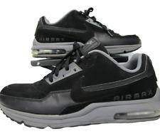 687977-029 Nike Mens Air Max LTD 3 Sz 13 Black / Grey Swoosh EUC