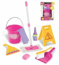 Children Kid Cleaning Set Pretend Play Housekeeping Toy Toddler Girl 3 to 5 year