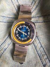 ! Raro! Atlántico SEAHUNTER Vintage Para Hombre Diver Watch 38 mm Caja de acero ETA 2784