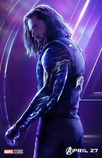 The Avengers Infinity War movie poster (o) : 11 x 17 inches - Bucky