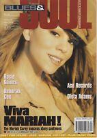 BLUES & SOUL MAGAZINE - MARIAH CAREY, ROSIE GAINES, DEBORAH COX - OCT/NOV 95