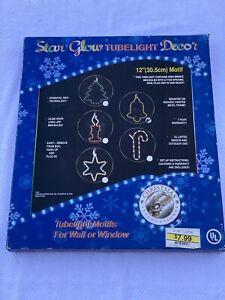 "STAR GLOW Tubelight Decor 12"" BELL Rope Wall Window Motif 2001 NO LED"
