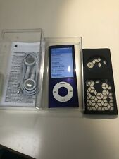 Apple iPod Nano 5th Gen. purple (8 GB) A1320 Camera/Video Working - 711 Songs