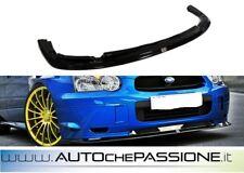 Splitter/Spoiler anteriore per Subaru Impreza WRX STI 2003>2006 lip lama
