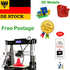 Anet A8 High Precision Desktop 3D Printer Reprap Prusa i3 MK8 Extruder+ DE Stock