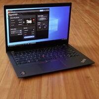 """Lenovo ThinkPad T495s Laptop Ryzen 7 PRO 3700U 2.3 GHz 16GB 14"""" FHD 256GB WRTY"""