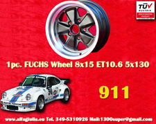1 cerchio Porsche 911 Fuchs 1 Stk Felge 8x15 R TÜV 1 pc wheel jante llanta