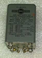 Genuine Original Collins R-390A Audio Line Output Transformer 677045900 TF1A13YY
