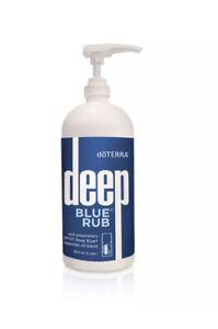 DOTERRA Deep Blue Rub Liter 32 fl oz / 946 mL | New Sealed!