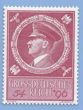 Germany Nazi Third Reich 1944 Hitler Swastika Eagle  54+96 stamp MNH WW2 ERA