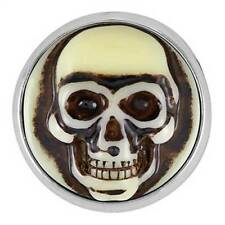 Ginger Snaps CARVED SKULL SNAP SN04-14 - 1 FREE $6.95 Snap w/ Purchase of Any 4