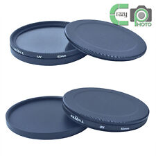49mm UV CPL ND Lens Filter Protection Case Box for Kenko Hoya / 49mm Lens Cap