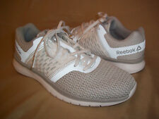 REEBOK size 7 womens REFLECTIVE gray & white PT Prime lightweight running shoes
