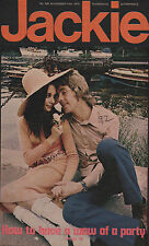 Jackie Magazine 14 November 1970 Issue No.358  Bobby Bloom  Cat Stevens  Caravan