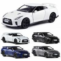 Nissan GTR R35 Sports Car 1:36 Model Car Diecast Gift Toy Vehicle Kids Pull Back