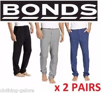 *CHEAP* 2 PAIRS x BONDS MENS EASY LOGO TRACKIES Trackpants Pants Tracksuit BULK
