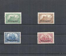 Memel, 1920 - 1923, Einzelmarken aus MiNrn: 10 -  179,  ungebraucht Falz *