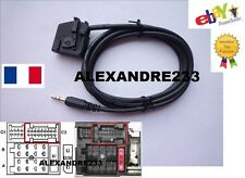 Cable auxiliaire adaptateur mp3 autoradio Mercedes Blaupunkt COMMANDE APS 220