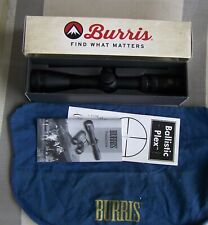 Burris 3-12x32mm Pistol Scout Rifle Scope Matte Bal-Plex