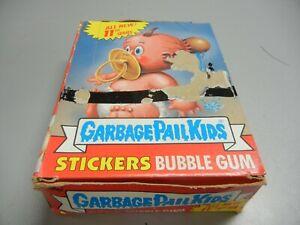 1987 Garbage Pail Kids USA GPK  Series 11 partial box, 38 unopened Wax Packs