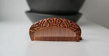AZTEC Design Wooden Beard Barber Comb / Grooming Moustache comb