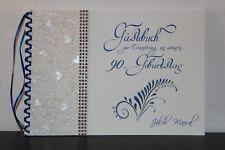 Gästebuch zum Geburtstag oder Jubiläum für jedes Alter , royal blau