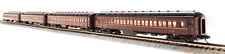 BROADWAY LIMITED 3767 N SCALE PRR P70 NO AC Tuscan Red w/ Buff 4-Car Set NEW
