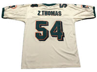 VTG Men's Starter Zach Thomas #54 Miami Dolphins Jersey Sz 52 NFL Football 1995