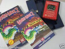 Atari 2600 Game Worm War 1 I Complete ATARI 2600 Video Game System #GCV20