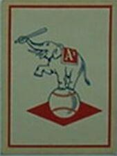 1960 KANSAS CITY A'S DECAL (FLEER BASEBALL GREATS