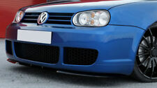 R32 Cupra Spoilerlippe Glanz Stoßstange VW GOLF 4 IV Front Lippe Spoiler R Line