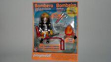 Playmobil Collection Figurine Pompier avec Accessoires et Feu, Spécial NEUF