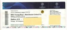 2018/19     BSC Young Boys   v   Manchester United     Excellent - Autographed