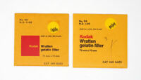 (2) 75mm Kodak Neutral Density Filters 0.60 & ND 1.00 Unopened LOT OF TWO