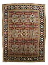 ANTIQUE TRADITIONAL PERSIAN Wool  9.5 X 13 HANDMADE RUGS ORIENTAL RUG CARPET