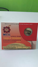 Malaysia World Team Table Tennis Championships Coin Card 2016