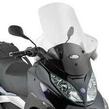 Kappa Piaggio MP3 Transparent Moto Motorcycle Specific Screen | 75 cm x 65 cm